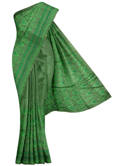 Kyathi Exclusive Thread Embroidery Tussar Silk Saree - MFB6637622