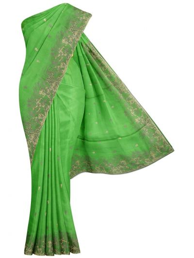 MFB6638357-Kyathi Tussar Silk Ration Embroidery Saree