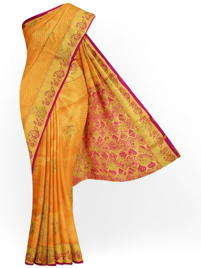 MGA7657156-Vivaha Wedding Silk Stonework Saree with Stonework Blouse