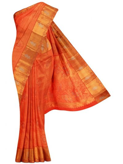 Vivaha Exclusive Wedding Stone Work Silk Saree - MGB8888958