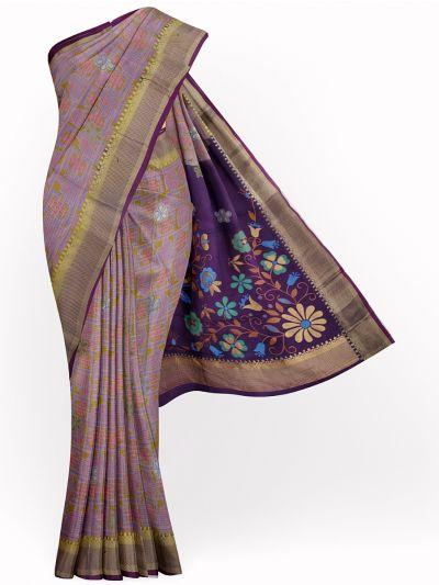 MGB9149017-Khyathi Raw Silk Weaving Saree