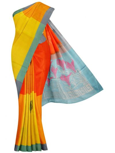 MGB9489615-Kanmanie Soft Silk Saree