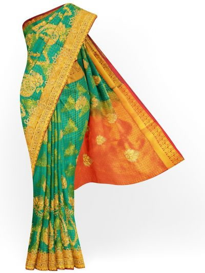 MHC1893473 - Banarasi Silk Stone work Saree