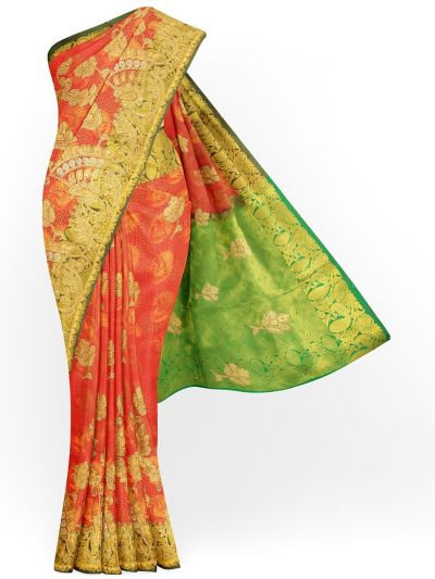 MHC1893475-Banarasi Silk Stone work Saree