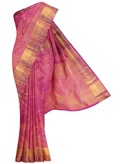 Vivaha Exclusive Wedding Stone Work Silk Saree - MHC2077508