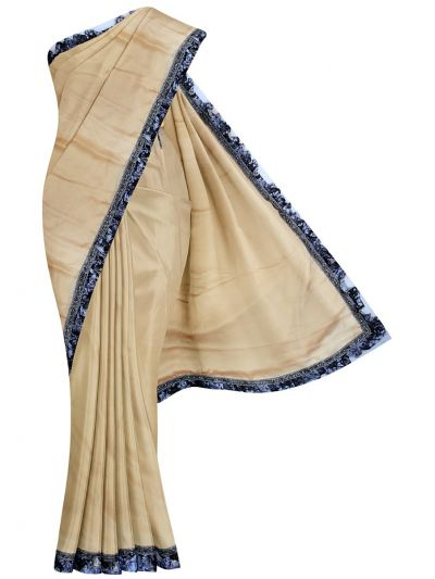 MHD2250163-Khyathi Fancy Georgette Saree with Readymade Blouse