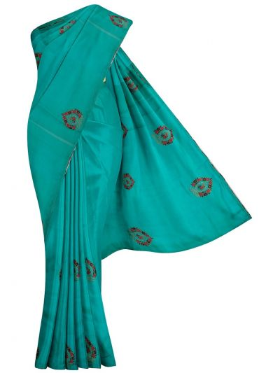 MHD2250166-Khyathi Fancy Georgette Saree with Readymade Blouse