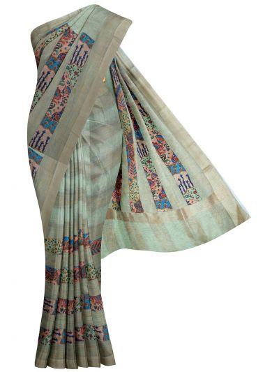 MHD2468364- Jute Silk Saree