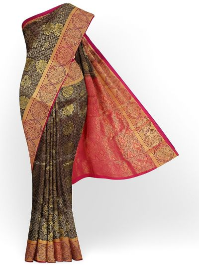 MIB3567398-Bairavi Gift Art Silk Stone Work Saree