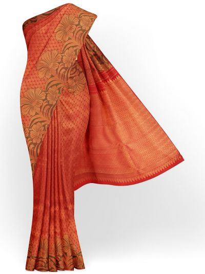 Estrila Exclusive Bridal Fancy Border Handloom Kanchipuram Silk Saree - MID4564156