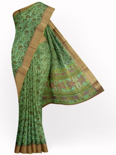 Fancy Printed Cotton Saree - MID4885868