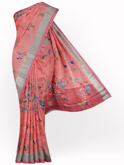 MID4886110-Fancy Printed Art Tussar Saree
