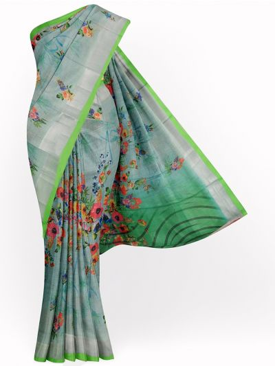 MID4886111-Fancy Printed Art Tussar Saree