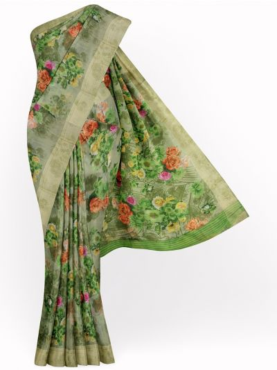 MID4886310-Fancy Printed Semi Jute Saree