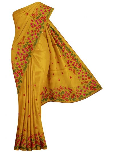 MID5265351-Kyathi Tussar Silk Ration Embroidery Saree