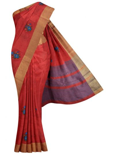 MID5270127-Kathana Fancy Semi Jute Saree