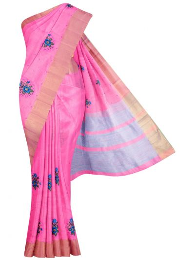 MID5270129-Kathana Fancy Semi Jute Saree