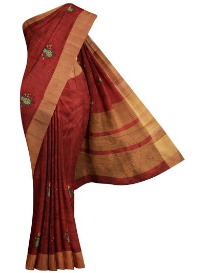 MID5270130-Kathana Fancy Semi Jute Saree