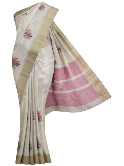 MID5270131-Kathana Fancy Semi Jute Saree