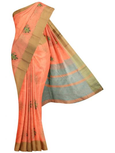 MID5270133-Kathana Fancy Semi Jute Saree