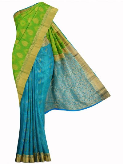 MID5570248-Vipanji Traditional Half and Half Design Silk Saree