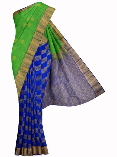 MID5570250-Vipanji Traditional Half and Half Design Silk Saree