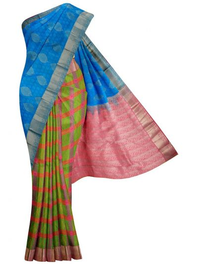 MID5570253-Vipanji Traditional Half and Half Design Silk Saree