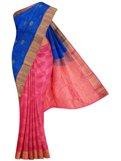 MID5570254-Vipanji Traditional Half and Half Design Silk Saree