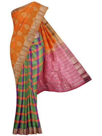MID5570255-Vipanji Traditional Half and Half Design Silk Saree