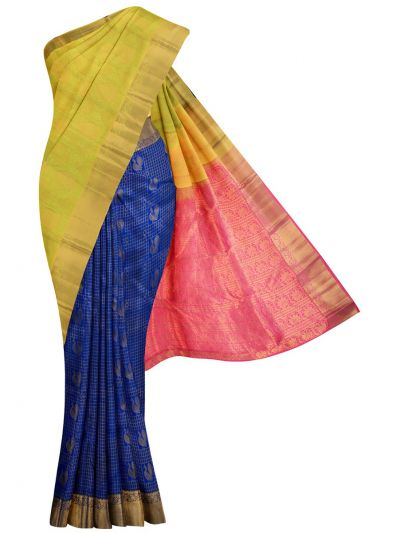 MID5570257-Vipanji Traditional Half and Half Design Silk Saree