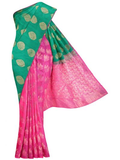 MID5570258-Vipanji Traditional Half and Half Design Silk Saree