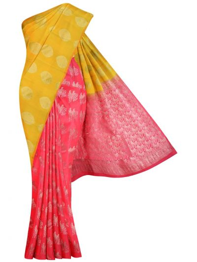 MID5570260-Vipanji Traditional Half and Half Design Silk Saree