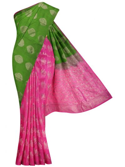 MID5570261-Vipanji Traditional Half and Half Design Silk Saree