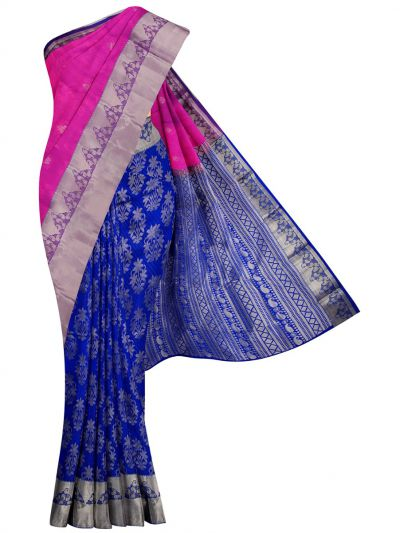 MID5570262-Vipanji Traditional Half and Half Design Silk Saree
