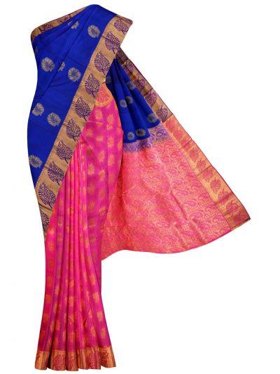 MID5570269-Vipanji Traditional Half and Half Design Silk Saree