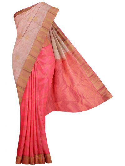 MID5570270-Vipanji Traditional Half and Half Design Silk Saree