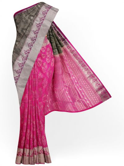 MID5570274-Vipanji Traditional Half and Half Design Silk Saree