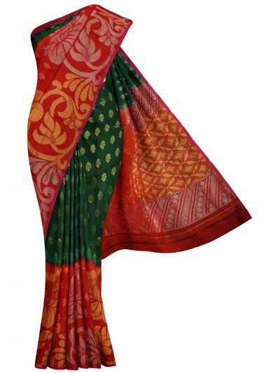 MID5979404-Kyathi Dupion Tussar Silk Saree