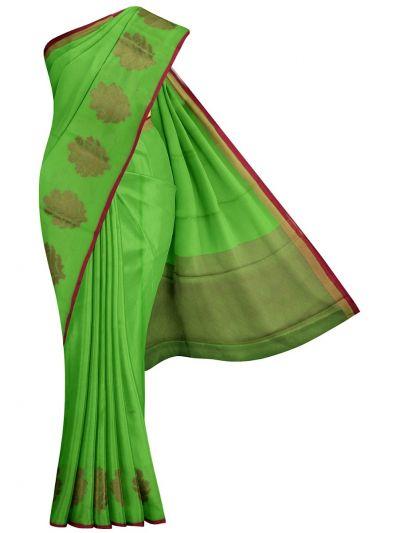 MJA6576800-Kyathi Fancy Thaju weaving Saree