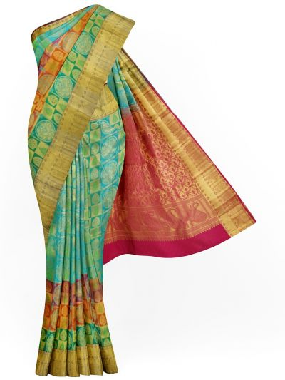 MJA6752185-Vivaha Wedding Pure Silk Saree