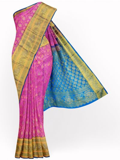 MJA6852275-Vivaha Wedding Stonework Silk Saree