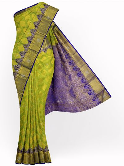 MJA6852280-Vivaha Wedding Stonework Silk Saree