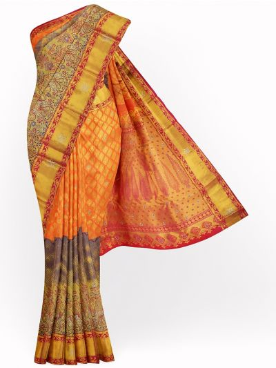 MJA6852297-Vivaha Wedding Stonework Silk Saree