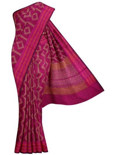 MJB7200975-Jalathi Manipuri Rasam Weaving Saree