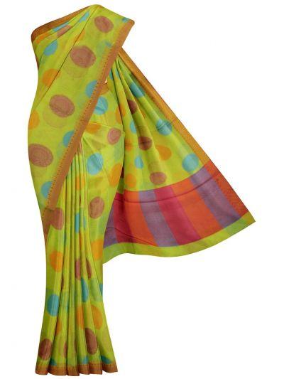 MJB7200982-Jalathi Manipuri Rasam Weaving Saree