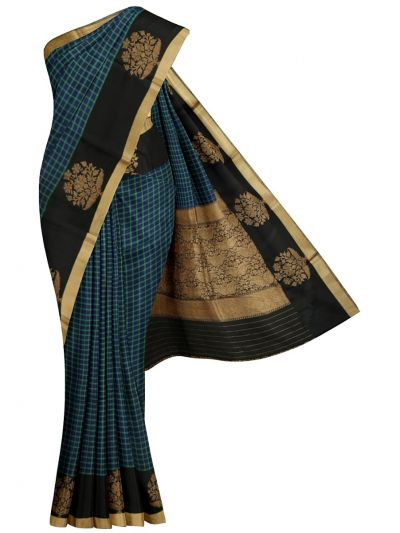 MJC7588508-Kyathi Banarasi Handloom Silk Saree