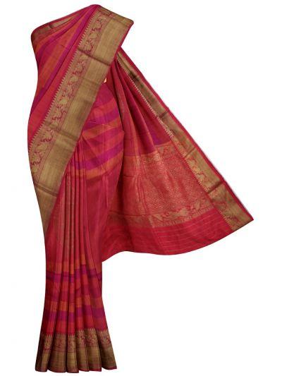 MJC7588512-Kyathi Banarasi Handloom Silk Saree