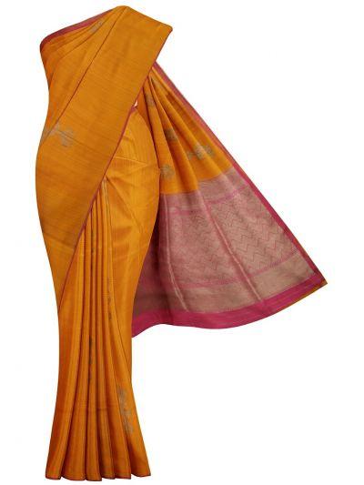 MJC7588522-Kyathi Banarasi Handloom Silk Saree