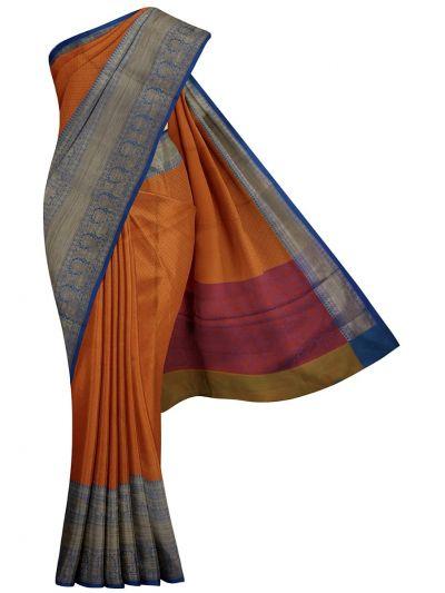 MJC7609300-Kathana Fancy Thanjuie Weaving Saree