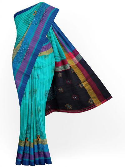 MJC7619277-Soft Silk Sarees With Embroidery Work